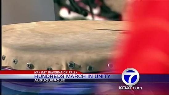 Immigration rally held in NM