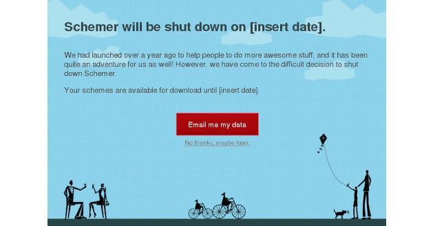 Leak hints Google may shut down its Schemer goal sharing service