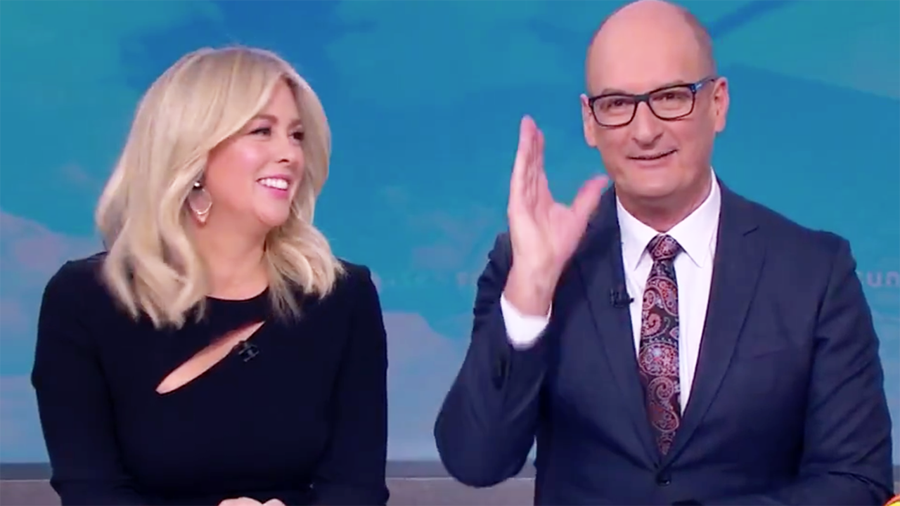 'Do your job': Kochie takes furious live TV swipe at own coach