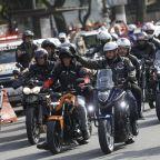 Bolsonaro fined for flouting mask order at motorcycle rally
