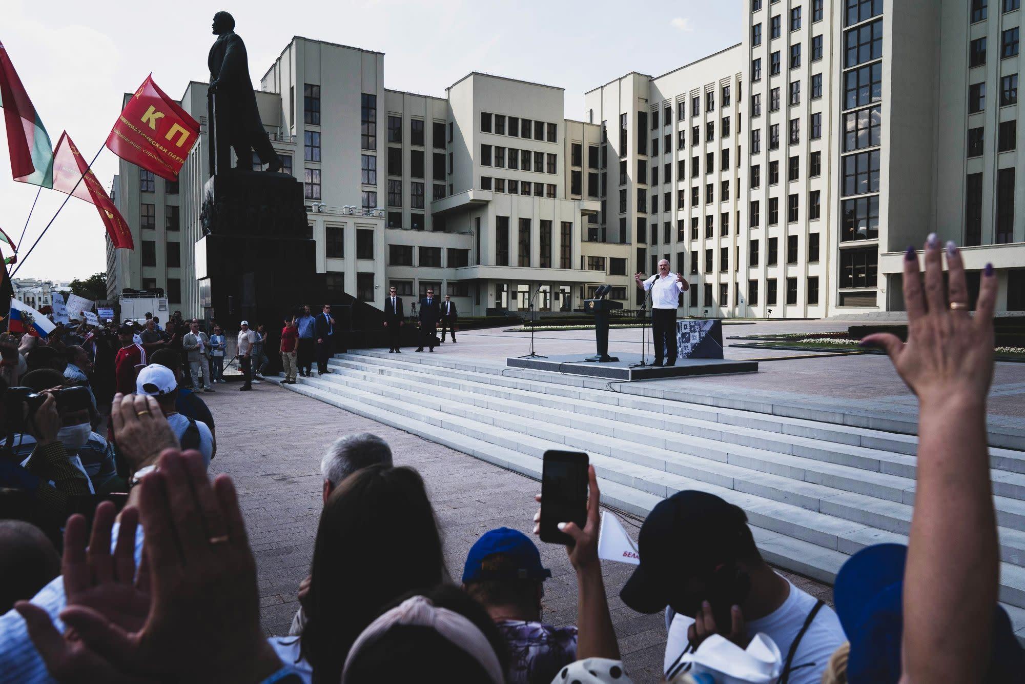 Belarusian Officials Shut Down Internet With Technology Made by U.S. Firm