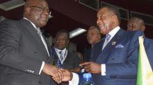 Félix Tshisekedi en visite de travail à Brazzaville
