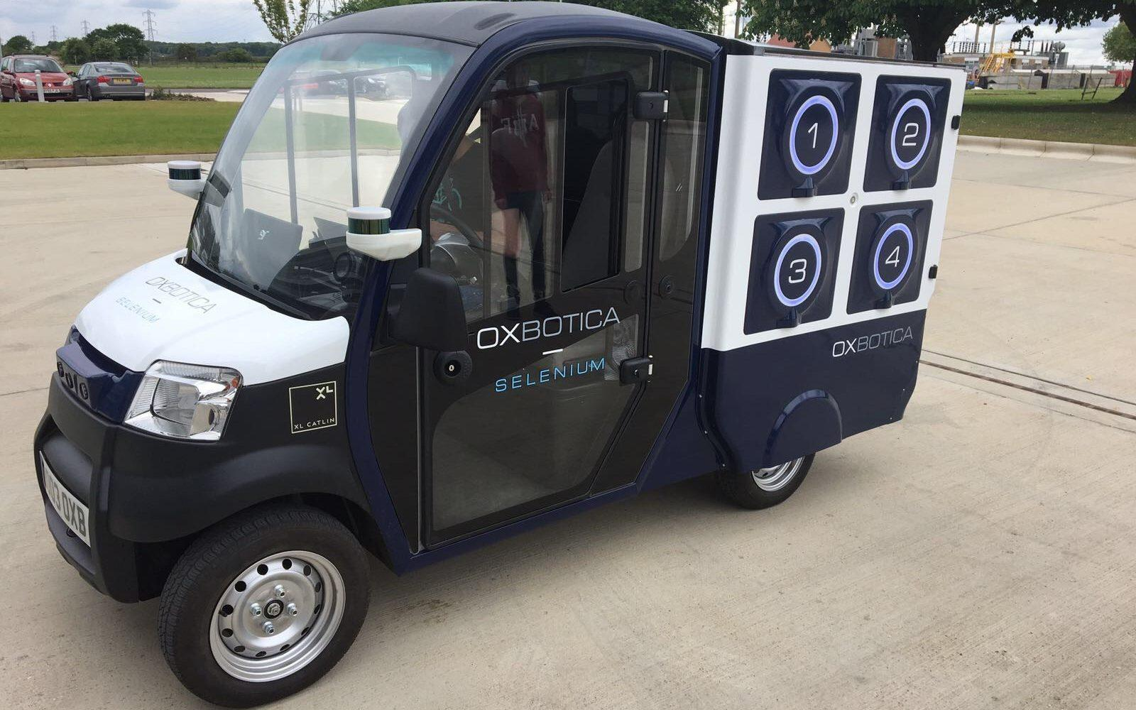 Ocado gets on the road to self-driving delivery vans