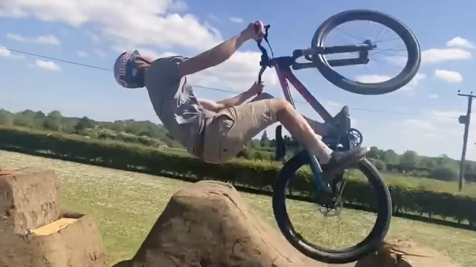 Pro Mountain Biker Matt Jones builds epic bike park in his ...