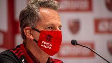 Rodolfo Landim esclarece posição do Flamengo quanto à transmissão da final: 'Preocupação com o torcedor'