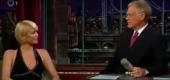 Paris Hilton on 'Late Show with David Letterman' (CBS)