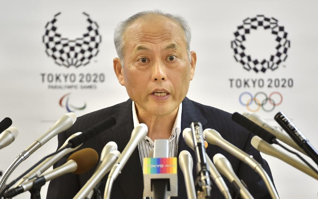 Yoichi Masuzoe holds a press conference in Tokyo on June 10, 2016 (AFP Photo/Kazuhiro Nogi)