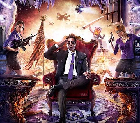 Saints Row series on sale this weekend at Humble Store