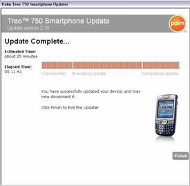 Unbranded Palm Treo 750s get hooked up with Windows Mobile 6