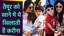 What Does Taimur Ali Khan Eat ?