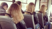 Photos of people accidentally wearing identical outfits are weirding out the internet