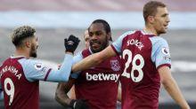 Michail Antonio gives resurgent West Ham battling victory over Burnley