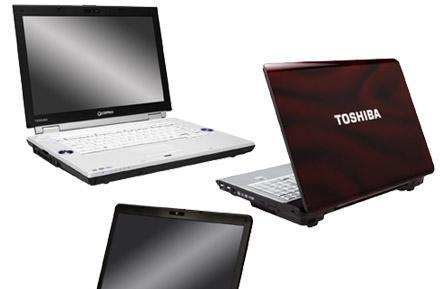 Toshiba introduces Qosmio F45, Satellite A215, X205