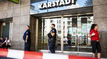 Banküberfall inBerlin-Neukölln: SEKdurchsucht Karstadt