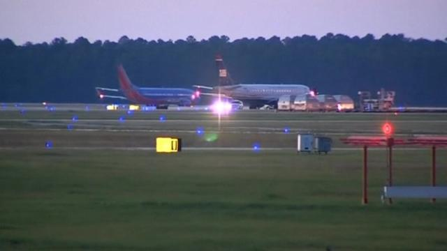 Officials find suspicious packages at airport in Florida