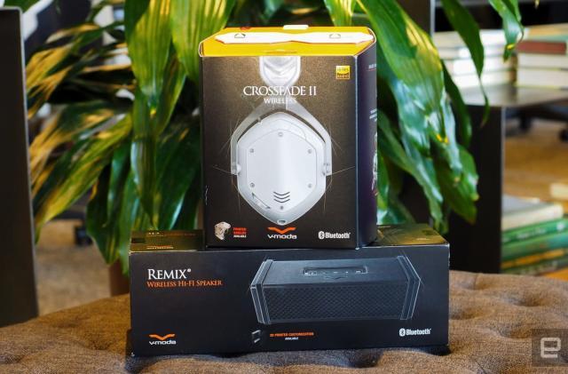 Engadget giveaway: Win a V-Moda Remix speaker or Crossfade II wireless headphones!