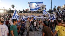 Nacionalistas israelíes marchan en Jerusalén Este elevando la tensión con palestinos