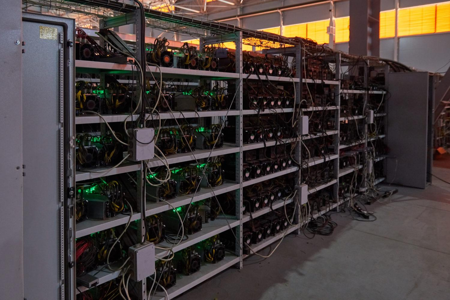 Bitcoin Mining Facility With Room for 50,000 Rigs Set to ...