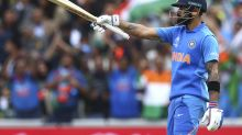 The Latest: Sharma's 140 helps India to305-4 before rain