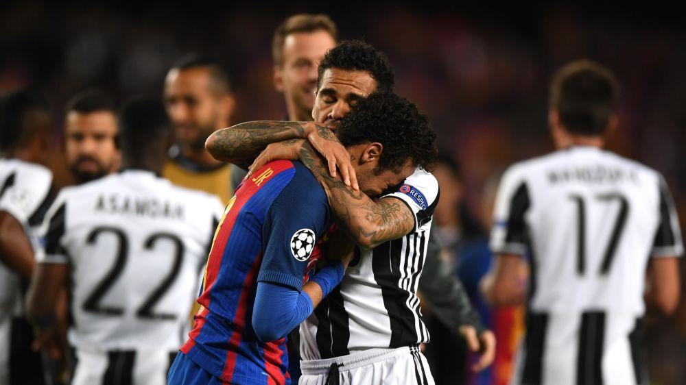 Enthüllt: Das hat Dani Alves zu Neymar nach dem Champions-League-Aus von Barcelona gesagt
