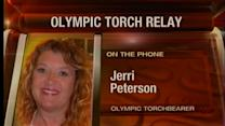 Tulsa native carries Olympic torch