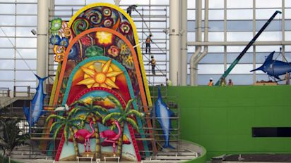 Marlins home run sculpture here to stay