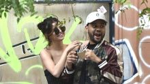 Selena Gomez Wore a Straight-From-the-Runway Dress with Sneakers on a Date With the Weeknd