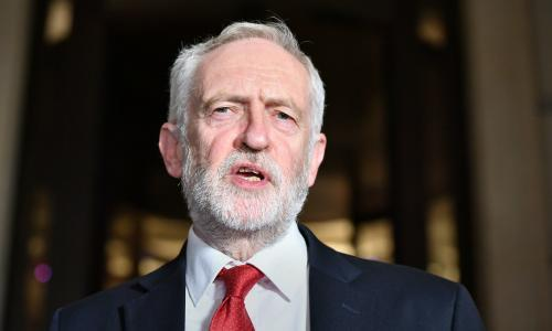 Corbyn vows to protect NHS from US drugs firms