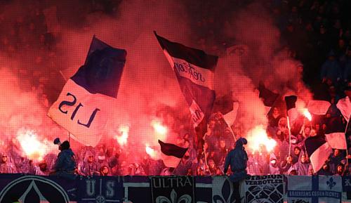 Bundesliga: Darmstadt droht Fan-Sperre