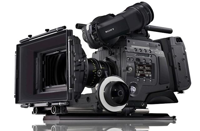 Sony is building a full-frame digital camera for pro filmmakers