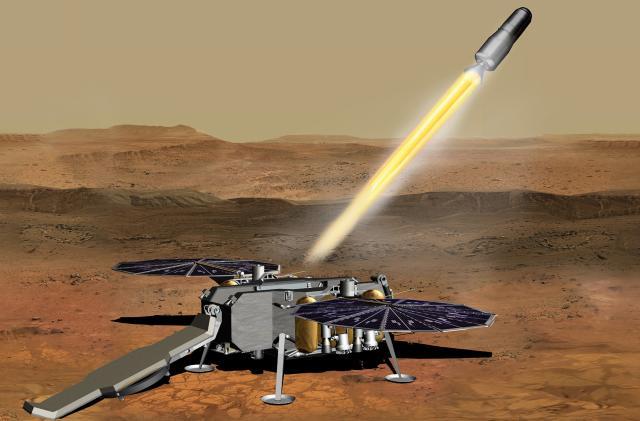 NASA awards key contract to bring rock samples back from Mars