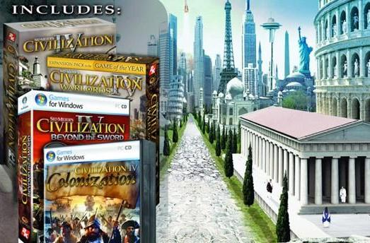 Civilization 4 and 5 on sale this weekend through Steam