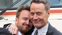 A complete timeline of Aaron Paul and Bryan Cranston's friendship, from 'Breaking Bad' costars to alcohol brand collaborators