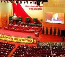 Vietnam's Communists proclaim pandemic, economic wins at Party congress