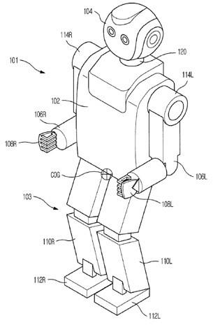 Samsung files patents for robot that mimics human walking and breathing, ratchets up the creepy factor