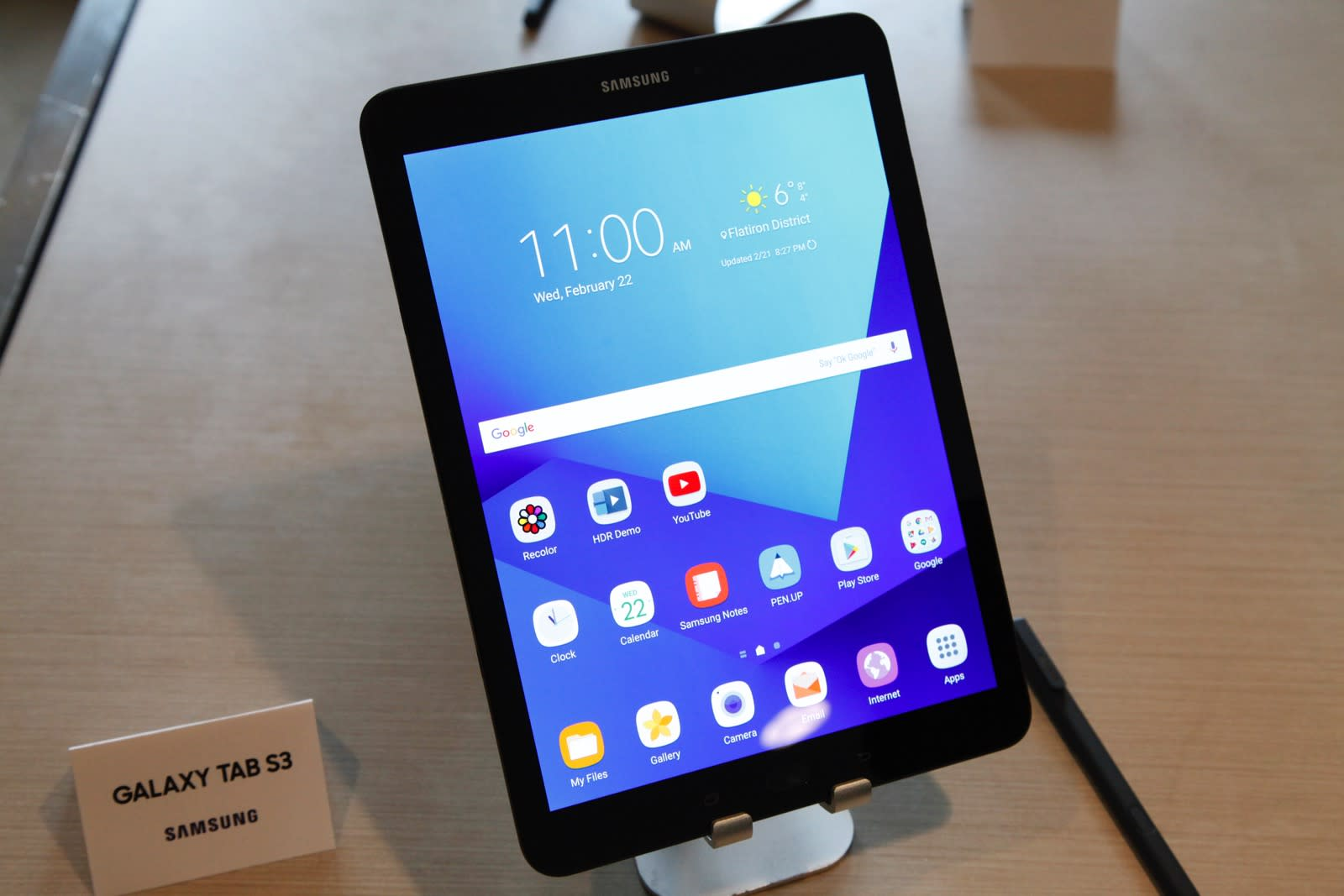 The specs of the only Samsung tablet worth buying this year