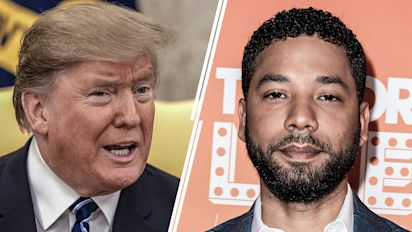 Trump rips Smollett after arrest for alleged hoax