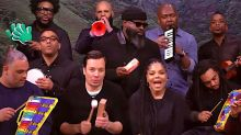 Janet Jackson, Jimmy Fallon Sing Sweet 'Runaway' With Classroom Instruments