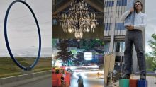 Controversial Public Art In Canada: From 'Bowfort Towers' To 'Spinning Chandelier'