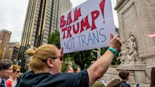 Democrats fire back at Trump as transgender troop ban takes effect