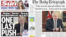 'One last push': How the national media reacted to England's new lockdown