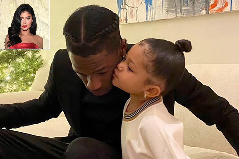 Kylie Jenner Celebrates Travis Scott's Birthday with Cute Family Tribute: 'Stormi's Daddy'