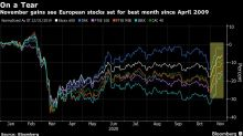 European Stocks Snap Rally With Spanish Bank Dealmaking in Focus