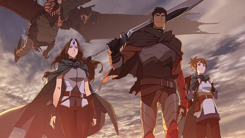 Netflix is launching a 'Dota 2' anime series in March - Engadget