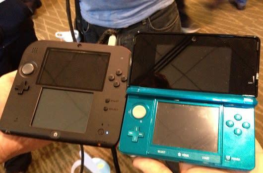 Seen@PAX Prime: Nintendo 2DS in 3D