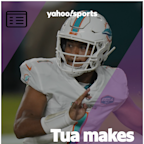 Tua Tagovailoa makes NFL debut in Dolphins blowout