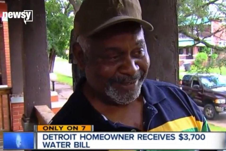"""<p>Early Lewis from Detroit was amazed to find his water bill was almost 100 times as much as he was expecting. The bill claimed that Lewis had used 3,740 gallons of water in just one hour. Thankfully common sense prevailed and the Water and Sewage Department admitted it was a mistake and subsequentlycharged Lewis the $36 he should have been charged initially. <a href=""""http://money.aol.co.uk/2015/08/25/detroit-man-charged-more-than-3-000-for-water/"""" target=""""_blank"""">Read more on this story here</a>.</p>"""