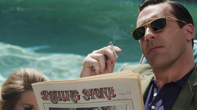 Jon Hamm's Rolling Stone Cover Shoot: Behind the Scenes