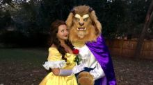A Couple Went as Beauty and the Beast for Halloween—And He Proposed