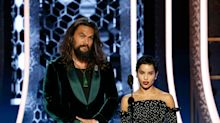 Zoë Kravitz Explains Why Stepdad Jason Momoa Rocked A Tank Top At Golden Globes